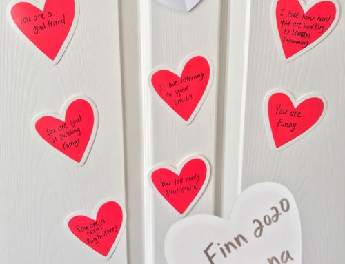 Quick & Easy Valentine Idea for Your Grandchild that will Stand Out!