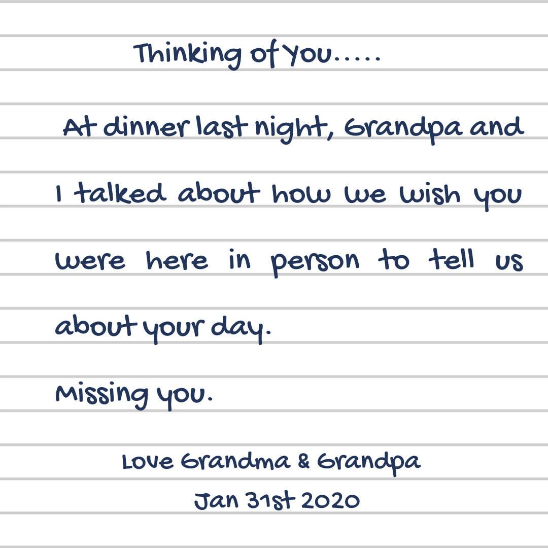 ideas long distance grandparenting