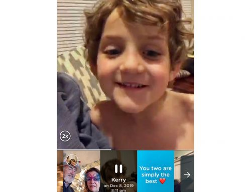 Are busy schedules making it hard to connect with grandchildren? There's an app for that!